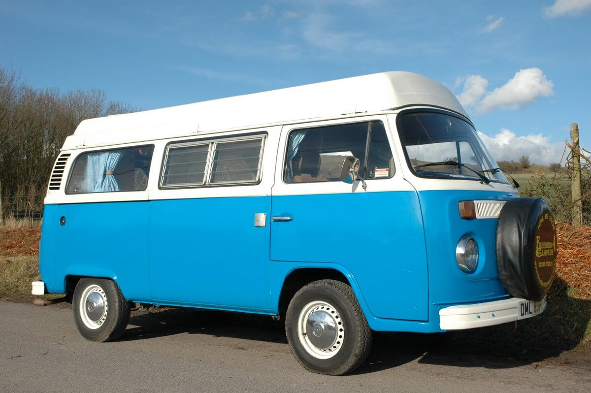 Blue Moon VW Camper