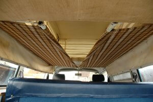 Bunks Mr Blue Sky classic camper
