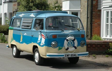 Mr Blue Sky Campo VW Camper