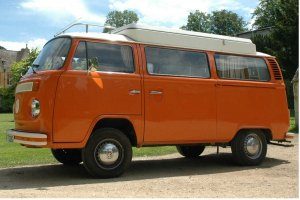 Tangerine Dream VW Camper