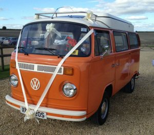 Tangerine Dream VW Camper for hire