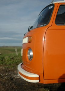 VW Camper Tangerine Dream