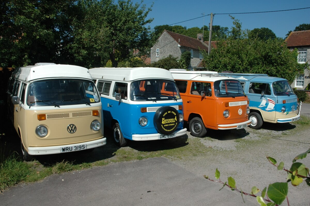 VW campers 4 view